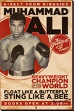 Muhammad Ali - Vintage Stretched Canvas Print