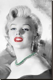 Marilyn Monroe - Diamonds are a Girl's Best Friend Stretched Canvas Print