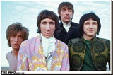 The Who – Colour Group 1968 Stretched Canvas Print