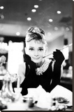Audrey Hepburn Stretched Canvas Print