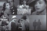 Casablanca Sträckt Canvastryck