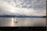 Destiny - Sailboat Stretched Canvas Print