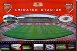 Arsenal Emirates- Stadium Stretched Canvas Print
