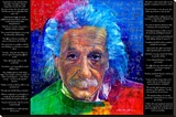 David Glover- As Quoted By Einstein Stretched Canvas Print by David Glover