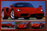 Tribute to Enzo Stretched Canvas Print
