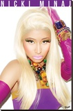 Nicki Minaj-Starships Stretched Canvas Print