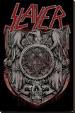 Slayer Medal Stretched Canvas Print