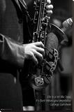 Jazz Reproduction sur toile tendue