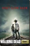 The Walking Dead Don't Look Back Stretched Canvas Print