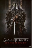 Game of Thrones - You Win or You Die Stretched Canvas Print