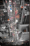 New York Times Square Lights Stretched Canvas Print