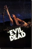 The Evil Dead Movie Poster Stretched Canvas Print