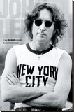 John Lennon - New York Stretched Canvas Print