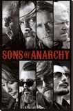 Sons of Anarchy Samcro TV Poster Print Stretched Canvas Print