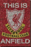 Liverpool - This is Anfield Stretched Canvas Print