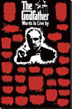The Godfather - Words to Live Stretched Canvas Print