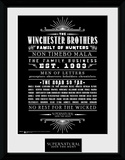 Supernatural Family Business Collector Print