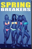 Spring Breakers Movie Poster Stretched Canvas Print