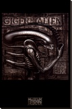 Giger's Alien Stretched Canvas Print by H. R. Giger