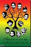 Steez - Roots Tree Stretched Canvas Print by  Steez