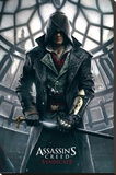 Assassins Creed Syndicate- Big Ben Stretched Canvas Print