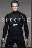 James Bond- Spectre Colour Teaser Stretched Canvas Print