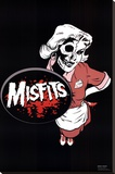 Misfits (Waitress) Music Poster Print Stretched Canvas Print