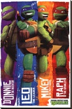 Teenage Mutant Ninja Turtles (Profiles) Stretched Canvas Print
