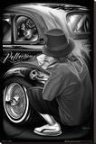 David Gonzales Art - Reflections Stretched Canvas Print