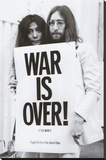 John Lennon - War Is Over Stretched Canvas Print