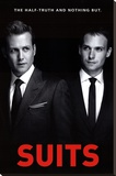 Suits - One Sheet Stretched Canvas Print