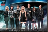 The Big Bang Theory (Ufo) Stretched Canvas Print