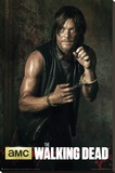 The Walking Dead - Season 5 Daryl Stretched Canvas Print