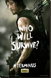The Walking Dead - Terminus Daryl Stretched Canvas Print