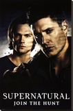 Supernatural Join The Hunt Stretched Canvas Print