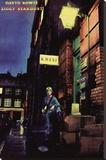 David Bowie - Ziggy Stardust Stretched Canvas Print