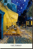 Cafe Terrace, Place du Forum, Arles, 1888 Stretched Canvas Print by Vincent van Gogh