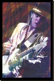 David Glover- Guitar Master Stretched Canvas Print by David Glover
