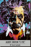 Albert Einstein - David Garibaldi Stretched Canvas Print