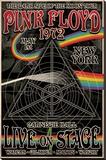 Pink Floyd 1972 Carnegie Hall - Şasili Gerilmiş Tuvale Reprodüksiyon