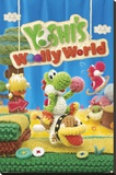 Yoshis Wolly World Stretched Canvas Print