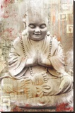 Buddhist Monk Stretched Canvas Print
