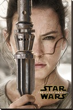 Star Wars The Force Awakens- Rey Teaser Reproduction sur toile tendue