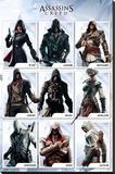 Assassins Creed- Compilation Stampa su tela