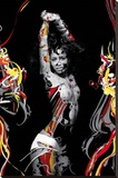 Trance (Dancing Girl) Art Poster Print Stretched Canvas Print