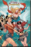 DC Comics Bombshells- Stunning Trio Stretched Canvas Print