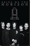Bring Me The Horizon- Sepulcher - Şasili Gerilmiş Tuvale Reprodüksiyon