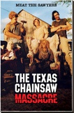 Texas Chainsaw Massacre - Meet The Sawyers Stretched Canvas Print