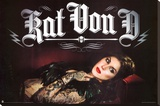 Kat Von D Stretched Canvas Print