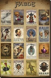 Fable- Steampunk Adverts Stampa su tela